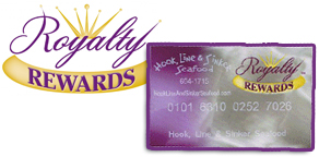 Hook Line and Sinker Loyalty Customer Rewards Program