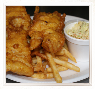 Fresh Fish and Chips